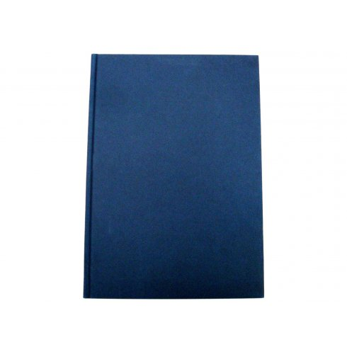 A4 Note Book Hard Back in Blue Colour