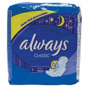 Classic Night Clean Feel Protection pack of 8