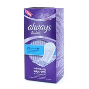 Dailies Normal Panty Liners 20's Individually Wrapped to carry with you