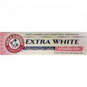 Extra White Sensitive Toothpaste 125 ml Daily Fluoride Anti - Cavity Mint Toothpaste
