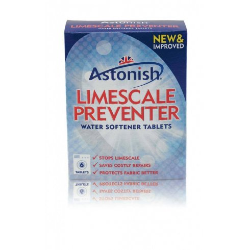 Astonish Limescale Preventer Water Softener Tablets Pack of 6