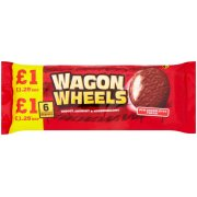 Wagon Wheels Original Biscuits 6 Pack 216g