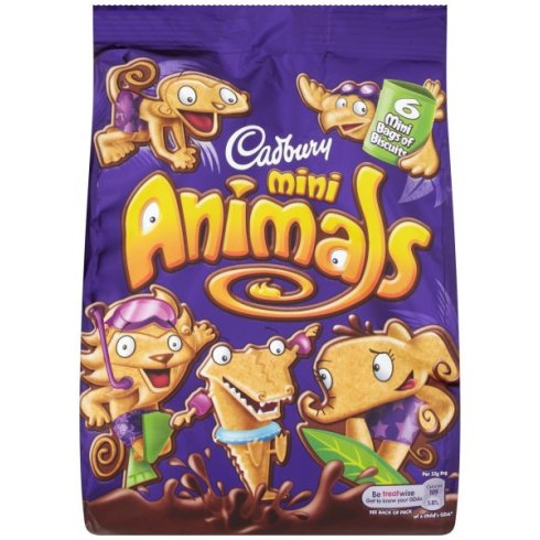 Cadbury Animals Minis Pouch 132g