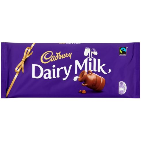 Cadbury Dairy Milk Chocolate Block Large 360g