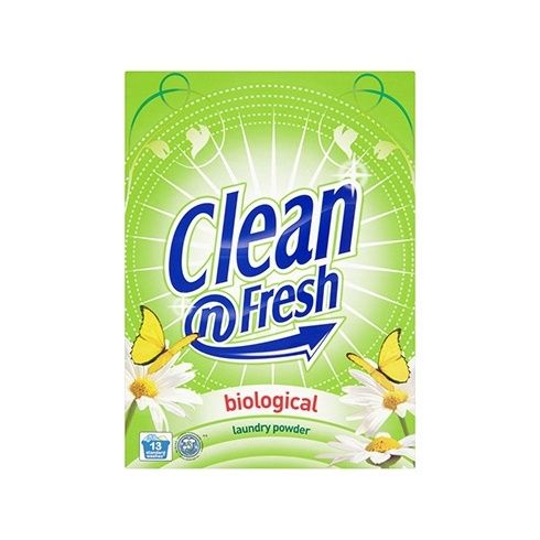 biological washing powder They make baking soda, vinegar, dish washing liquid and borax do just  my  question is this: they frequently use biological washing powder.