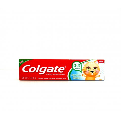 Colgate Baby 0-2 Years Anti-Cavity Toothpaste 50ml Strawberry 500ppm