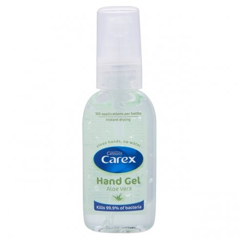 Cussons Carex Aloe Vera Sanitizing Hand Gel 50ml