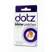 Dotz Hydrocolloid Blister Patches Pack of 5 in Two Different Sizes for Heels & Toes