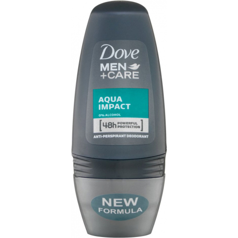 Dove Men + Care Aqua impact Roll On Anti perspirant Deodorant 50ml