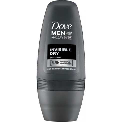 Dove Men + Care Invisible Dry Roll On Anti perspirant Deodorant 50ml