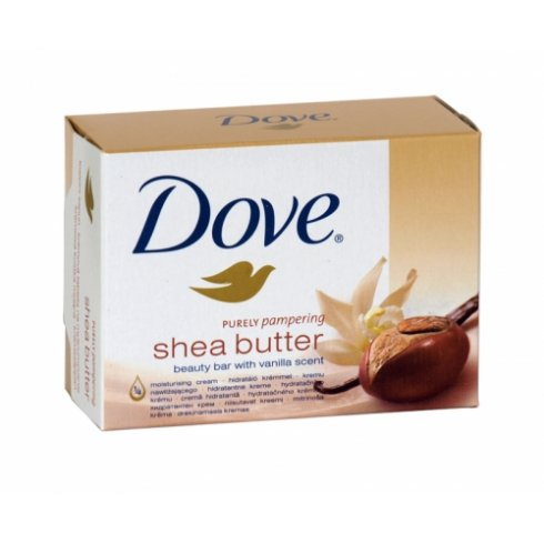 Dove Purely Pampering Shea Butter Beauty bar With Vanilla Scent 2 x 100g