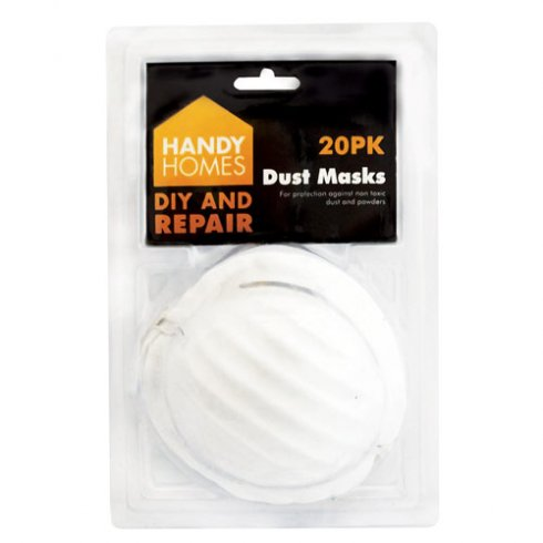 Dust Masks Disposable Pack of 20