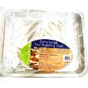 Extra Large Foil Rectangular Baking and Roasting Tray Disposable Dish