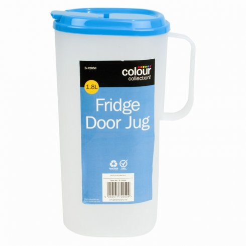 Fridge Door Jug 1.8L Capacity Colour Collection