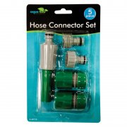 Garden Hose Connector Set 5 Piece From aqua flow