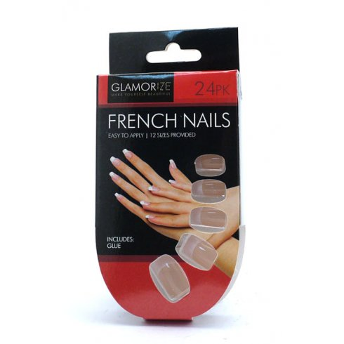 Glamorize French Nails 24PK with Glue