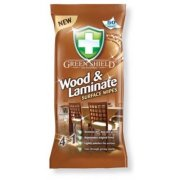 Green Shield Wood and Laminate Surface Wipes Pack of 50 Extra Large Wipes