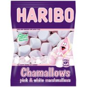 Chamallows Pink & Wnite Mallows Fat Free Bag 160g