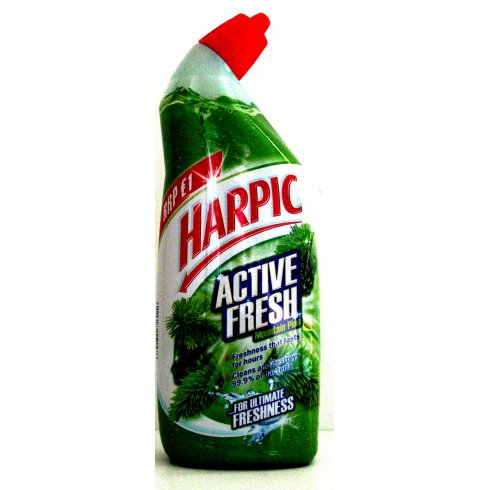 Harpic Active Fresh Cleaning Gel Pine 750ml