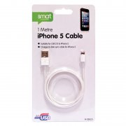 iphone 5 USB Cable 1 Metre Hi-Speed 2.0 USB