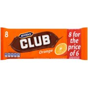 Club Orange 8 For The Price Of 6 Multipack 181g