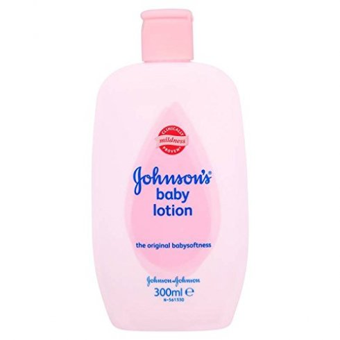 Johnsons Baby Lotion 300ml Bottle Clinically Proven Mildness