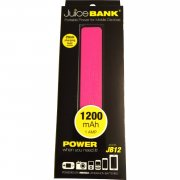 Juice Bank 1200mAh 1AMP Portable Power for Mobile Devices Model JB12