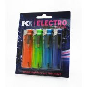 K2 Electro Lighters Refillable 4 Pack