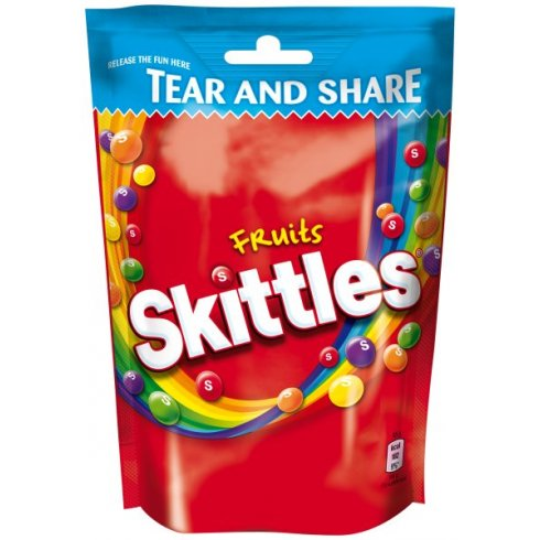 Mars Skittles Fruit Tear and Share Pouch 174g