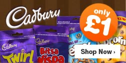 Selected Cadbury Only £1
