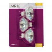 MR 16 Halogen Light Bulbs 35w Pack of 3 Warm White