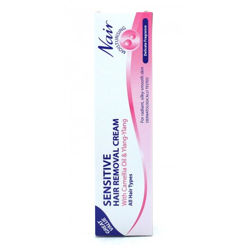 Nair Nair Sensitive Hair Removal Cream With Camellia Oil And Ylang