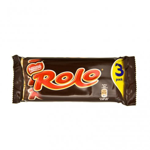 Nestle Rolo Pack of 3 x 52g Tubes