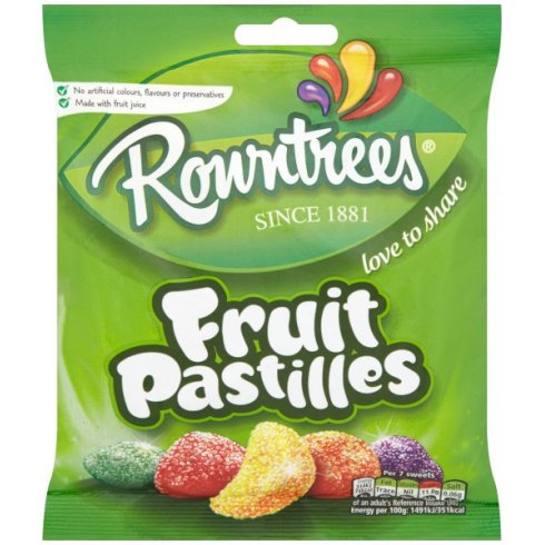 Nestle Rowntrees Fruit Pastilles Love to Share Bag 170g Since 1881