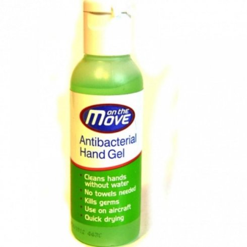 On The Move Anti Bacterial Hand Gel 75ml