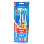 Medium Toothbrush Triple Pack All Rounder 3 Way Clean