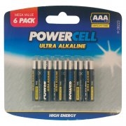 Ultra Alkaline Batteries AAA 1.5v Mega Value 6 Pack