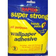Rapide Super Strong All Purpose Wallpaper Adhesive Hangs upto 10 Rolls