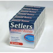 Setlers Antacid Chewable Tablets Peppermint 36 tablets