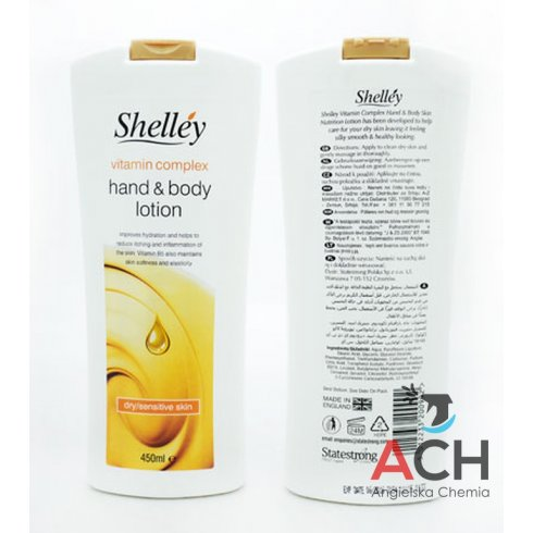 Shelley Hand And Body Lotion Vitamin Complex For Dry