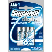 Superior Digital Ultra High Power AAA Batteries 4 Pack 1.5V LR03