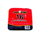 Super Bright 16 Soap Filled Pads