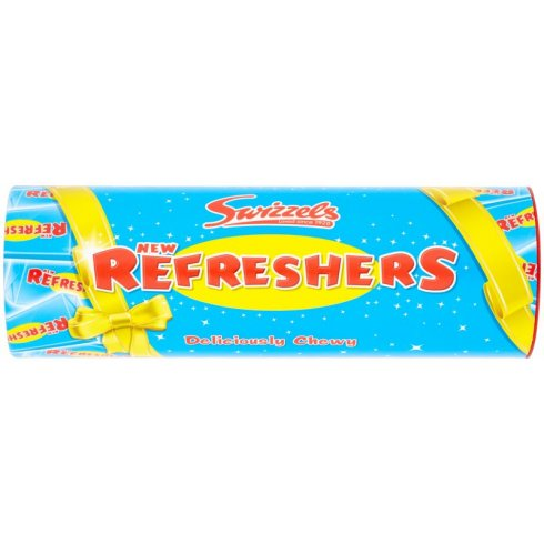 Swizzels Matlow New Refresher Tube 108g Deliciously Chewy