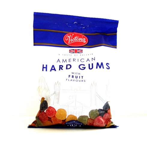 victoria confectionery american hard gums with fruit flavours big