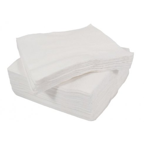 White Paper Napkins 1 Ply 30cm x 30cm Pack of 150