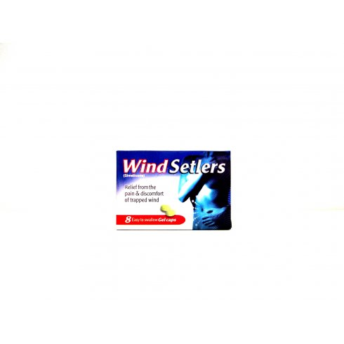 Wind Setlers Gel Capsules Easy to Swallow Pack of 8 Capsules